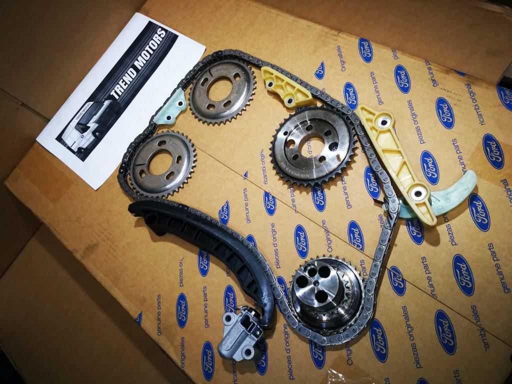 2006 to 2013 Ford Transit Mk7 2.4 Genuine Timing Chain Kit Trend Motors
